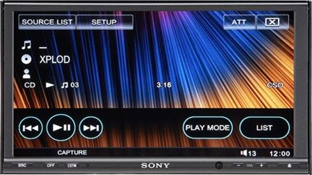 Автомобильная SACD систеа Sony XAV-W1