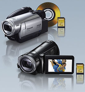 AVCHD видеокамеры Panasonic