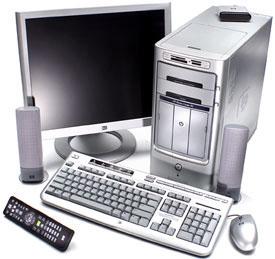 Компьютер Hewlett-Packard с HD DVD и Blu-ray