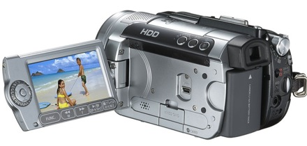 Canon ivis hg10