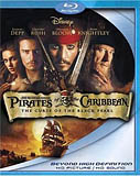 Pirates of the Carribean Blu-ray