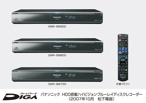 Panasonic DIGA DMR-BW