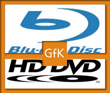 Blu-ray - GfK - HD DVD