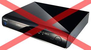 Samsung BD-UP5000 отменен