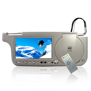 Sun Visor DVD Touch Screen