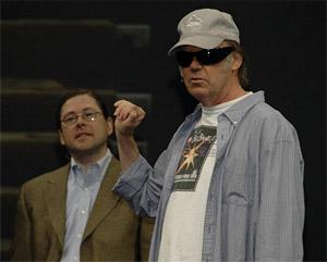 Neil Young & Jonathan Schwartz