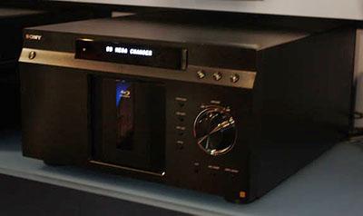 Sony 400 BD Changer