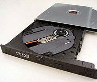 Мобильный привод Toshiba HD DVD